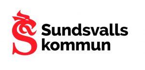 Logotyp röd och svart